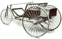 Electric tri-car 1888