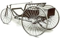 Electric tri-car 1888