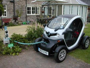 Twizy Charging
