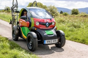 Rural Twizy prototype from Eco Travel Network