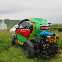 Rural Twizy on Eigg