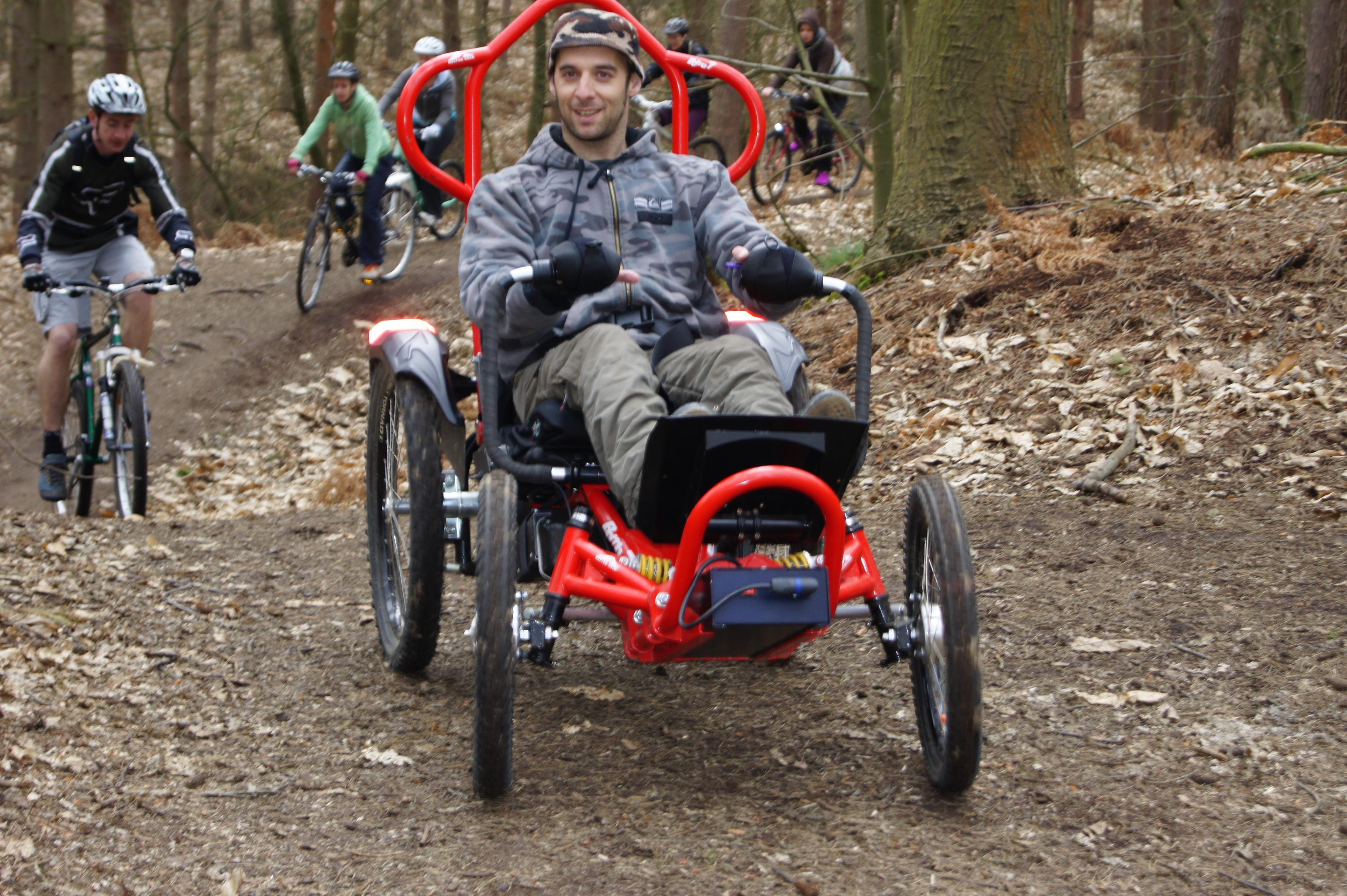 Exploring Boma All Terrain Wheelchair trial in Brecon Beacons – All Terrain Chair