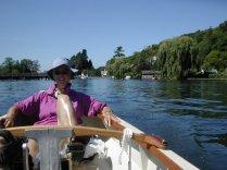 Alison on Thames